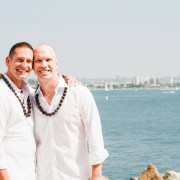 Same-sex wedding in Hawaii