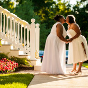 Same-sex wedding in Columbia, Maryland