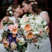 Beautiful Flower Farm Same-Sex Summer Wedding