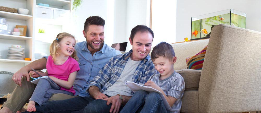 Ready Made LGBT Families:  Step-parenting in an LGBT household