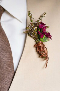 Wired Boutonniere