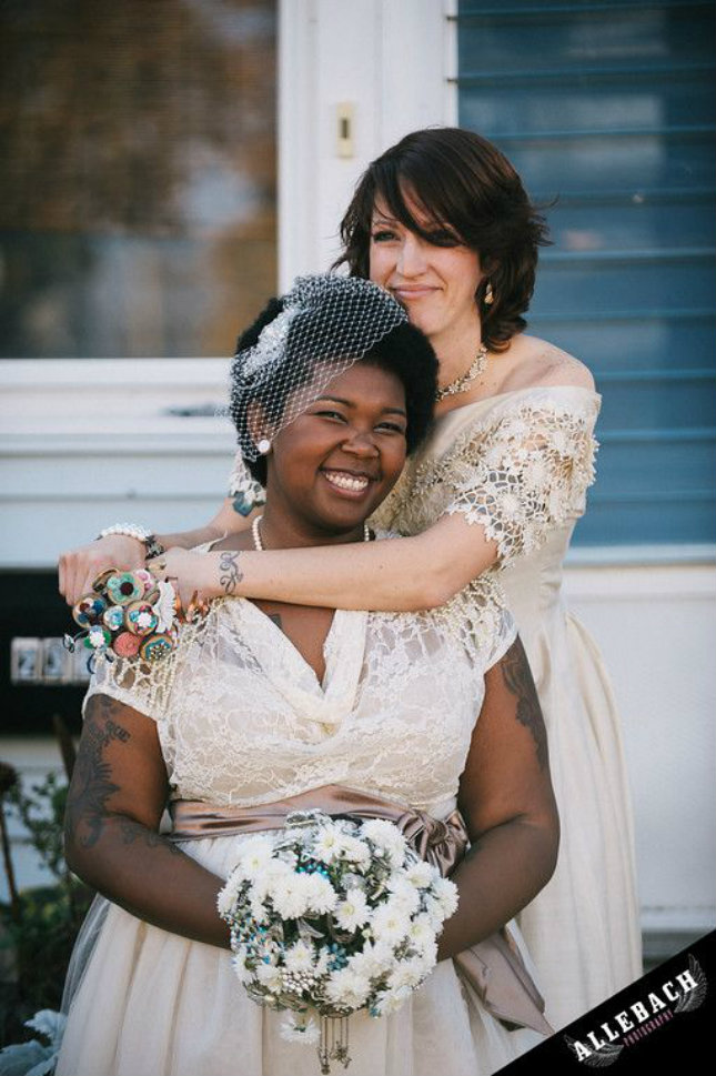 12 Bride Attire Ideas For Your Lesbian Wedding