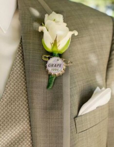 Soda Pop Boutonniere