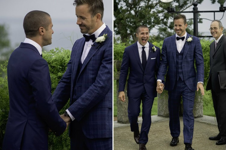 The Best Suits for Your Fashion-Forward Gay Wedding