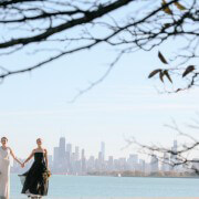 Fall Destination Gay Wedding in Chicago