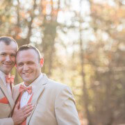 Fall Gay Wedding in Trailblazer Park