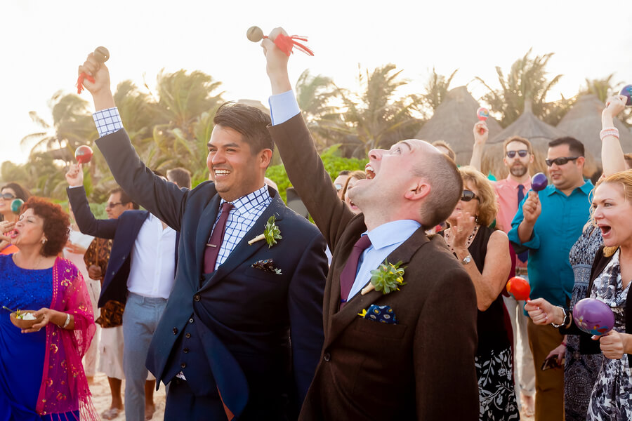 Destination Gay Wedding in Tulum, Mexico - Gay Weddings ...