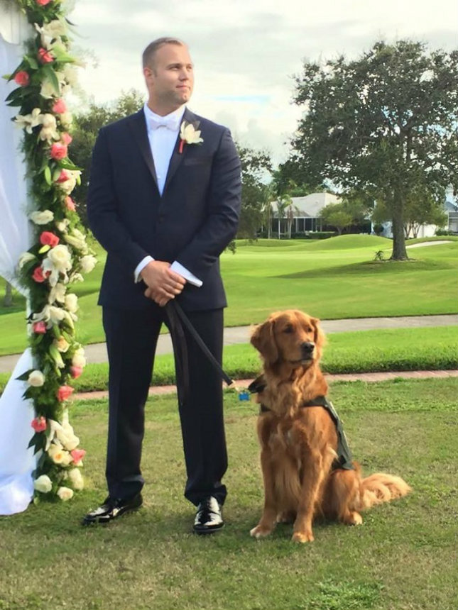 Include your pet in your wedding