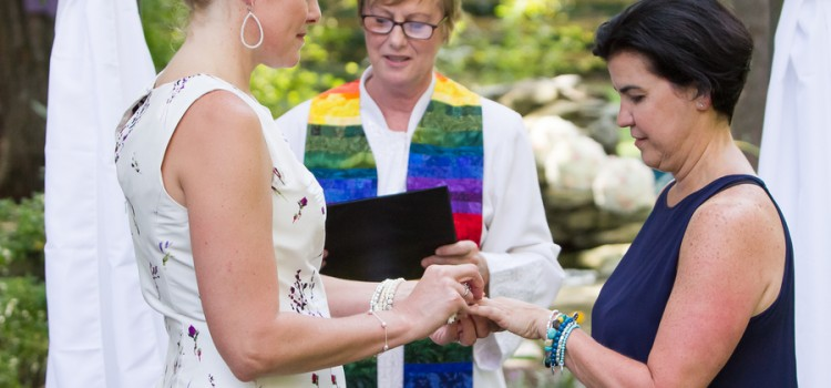 Same-sex couple legally married after 16 years