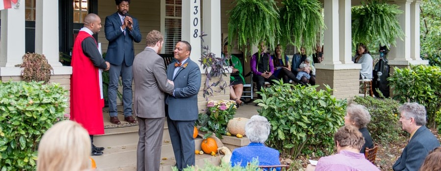 Brunch Gay Wedding in Winston-Salem