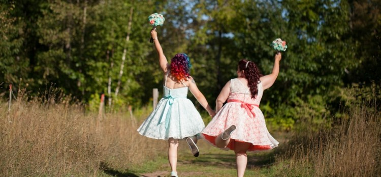This Colorful Same-Sex Wedding Will Make You Smile!