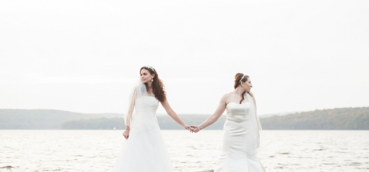 Bridget and Jessica Get Married!