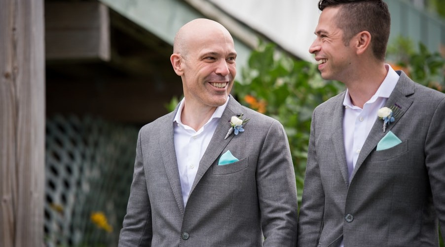 Seaside Gay Wedding at Beautiful Harborview