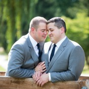 Modern Downtown Gay Wedding at the Hamilton Kitchen and Bar