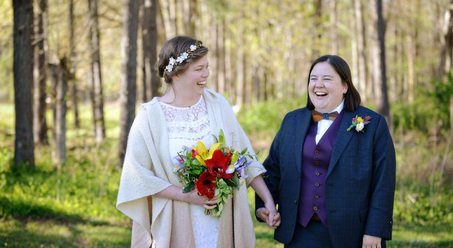 Two Lovely Brides Get Married