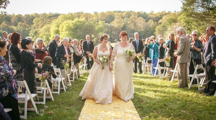 Brides Walk Down the Aisle After 10 Years!