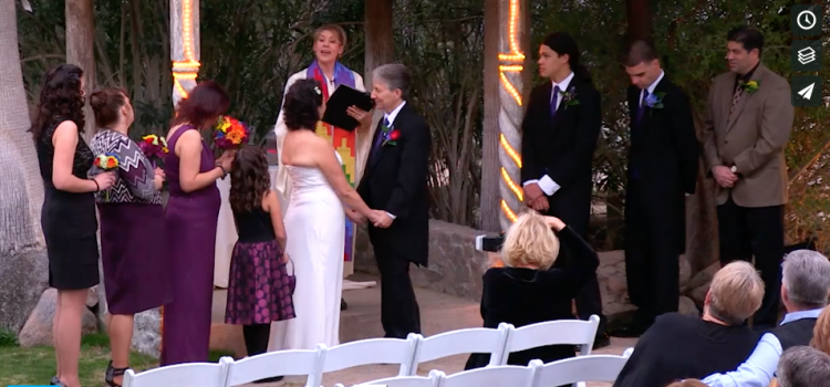 Couple Dances Down the Aisle to Their Wedding!