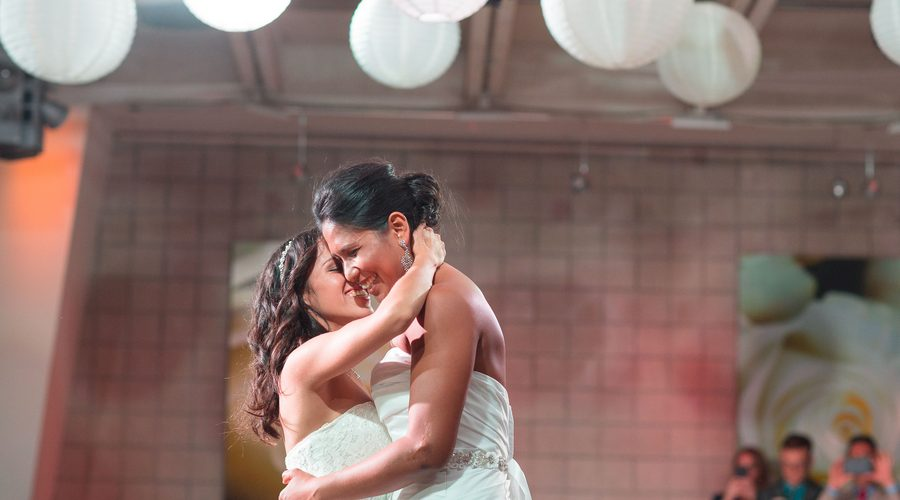 Two Brides Marry in Style