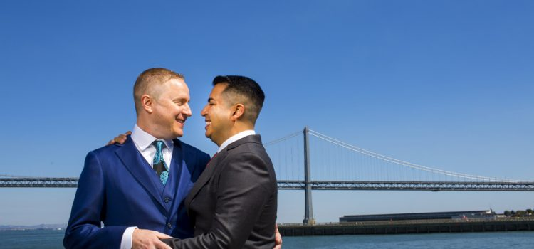 San Francisco Gay Wedding at the Legion of Honor Museum
