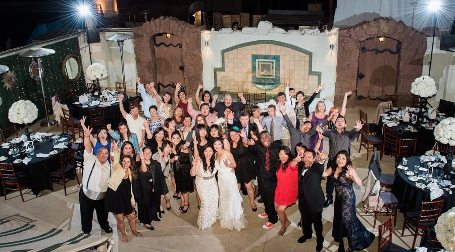 Lesbian Rooftop Wedding in Downtown Los Angeles