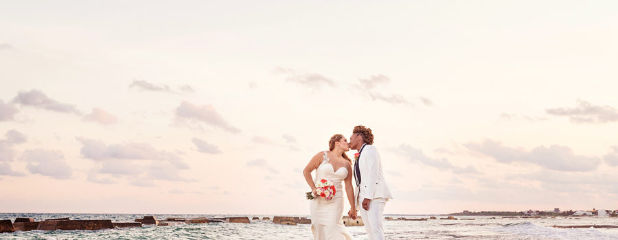 Modern Chic Mexico Wedding
