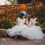 Colorful Fall Gay Wedding