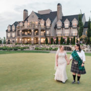 Elegant Scottish Wedding In Utah