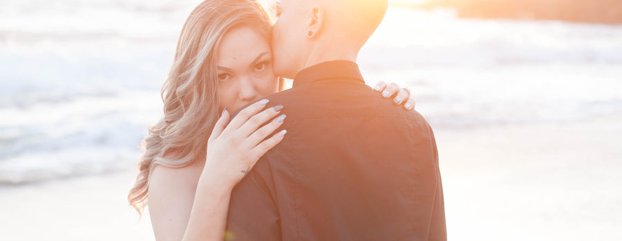 Romantic Engagement in Laguna Beach