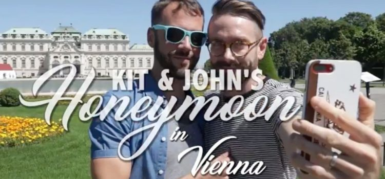 Kit and John's Honeymoon in Vienna!