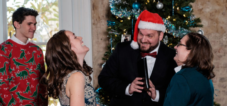 A Christmas Themed Wedding!