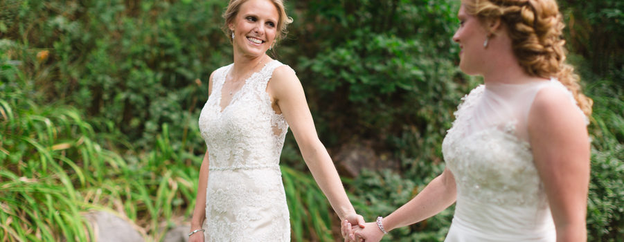Courtney and Lindsay Get Married!
