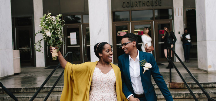 Wonderful Courthouse Elopement