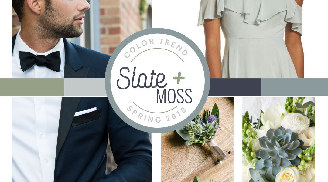 Slate and Moss Graphic The Black Tux