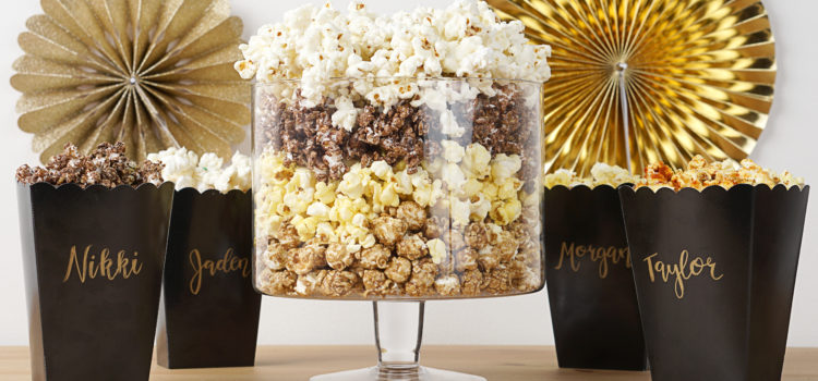 The Perfect Popcorn Bar For Your Event