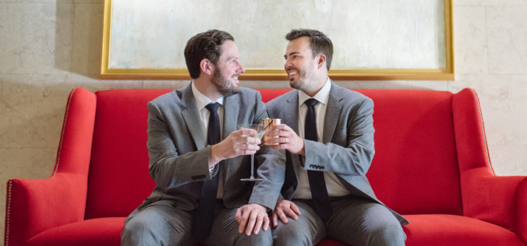 Mike and Justin's Fall Wedding!