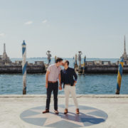 Gay Engagement Session at Vizcaya Museum and Gardens