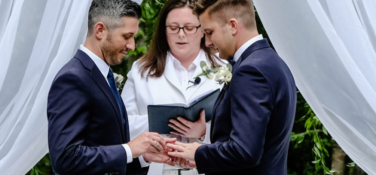 Gay Wedding With Southern Charm