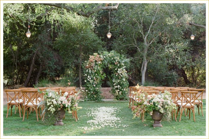 20 Stunning Wedding Aisle Decorations