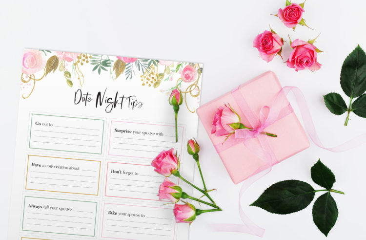 Printables for a Newlywed Tip Jar