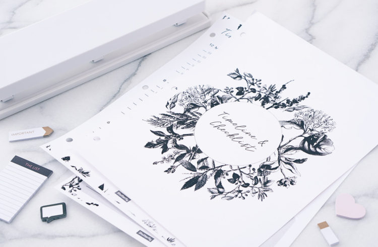 How to DIY a Personalized Wedding Binder