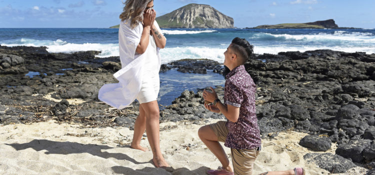 Surprise Engagement in Hawaii