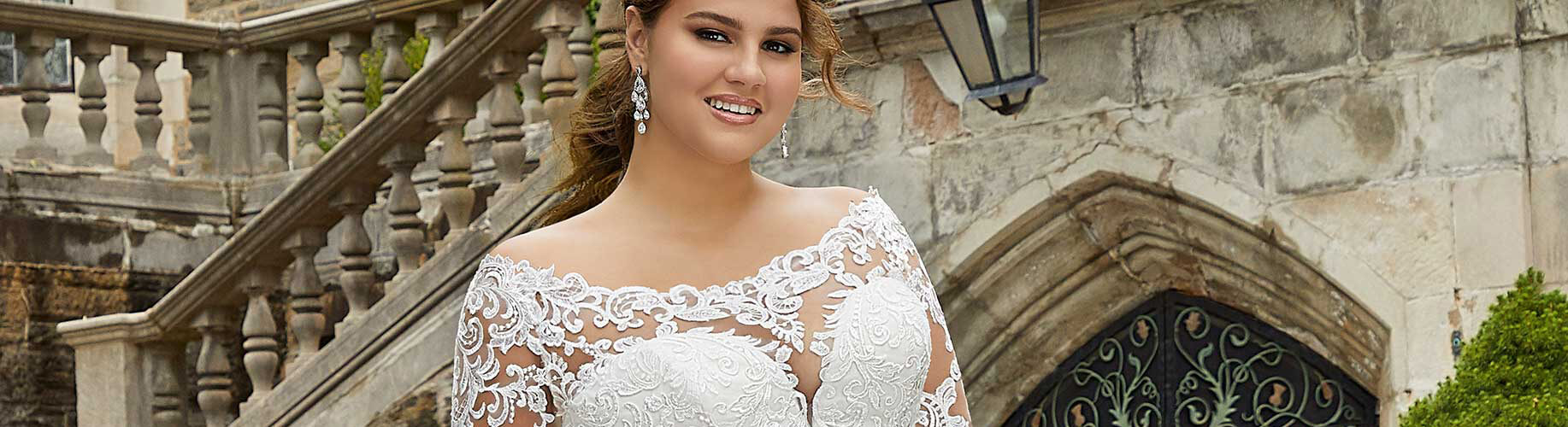 Elegant Full Figured Gowns