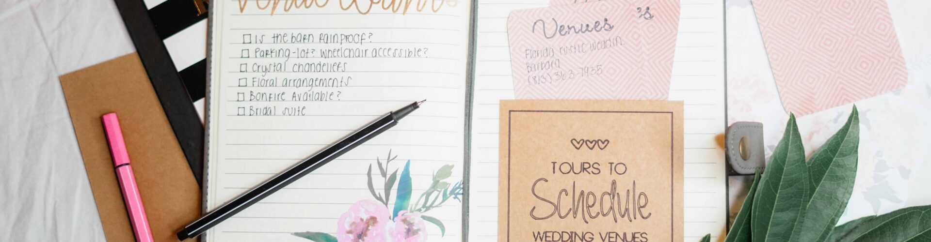 Wedding Planners and Binders!