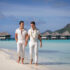 Handsome Grooms in Bora Bora and in Love